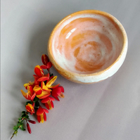Ceramic Pottery Stoneware Hand Thrown Glazed Vessel Dish Pot Sunrise Collection