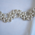 Silver Filled chainmaille Bracelet