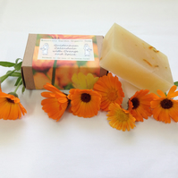 Organic Calendula with Orange and Spice Soap