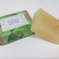 Organic Fresh Mint and Wild Nettle Soap
