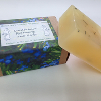 Organic Rosemary and Herb Soap