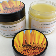 Honey Hand Balm with Propolis