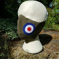 Custom Face Mask - RAF Roundel