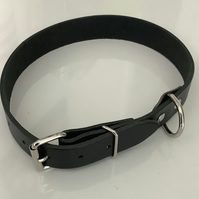 Large Heavy duty Handmade Leather dog collars