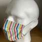 Rainbow stripe, Cotton Face mask, Reusable face mask, face covering,Free P&P
