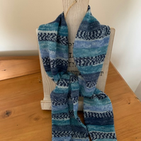 Knitted Summer Scarf
