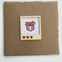 Love Parcel Anniversary Card