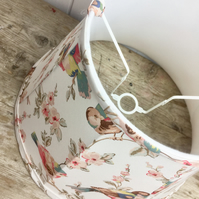 Lampshade in Cath Kidston British birds fabric