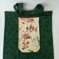 Eco-Friendly Tote or Shopping Bag. Foldable, washable, long-lasting and reusable