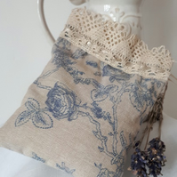 Lavender Bag - Linen & Antique Lace