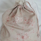 Laundry Bag - Linen Rose Print