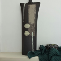 Edward - Black Sculptural Ceramic Form