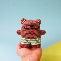 Handmade Teddy Bear toy, crochet animal, amigurumi