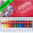 Oil Paint Set Professional Pigmented Perfect for Arts and Crafts