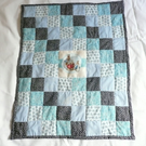 Handmade Peter Rabbit Patchwork Moses Basket Quilt