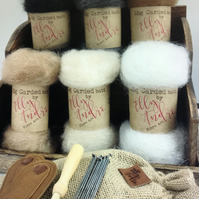 Organic UK Alpaca Fibre Needle Felting Kit