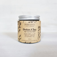 Anti Acne Face Mask - Bentonite Clay, Orange Flower Water, Rosemary, Lemon 150ml