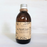 Neroli Face Toner Mattifying with Witch Hazel 250ml glass bottle
