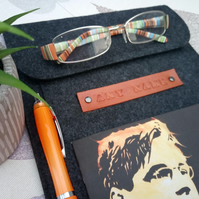 Personalised Felt Ipad or Book Sleeve