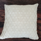 Ivory linen cushion cover
