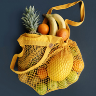 Organic Cotton Grocery Bag in Natural
