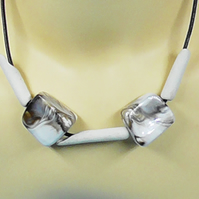 CLAY PIPE NECKLACE