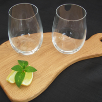 Small Quirky Shaped Cutting & Serving Board
