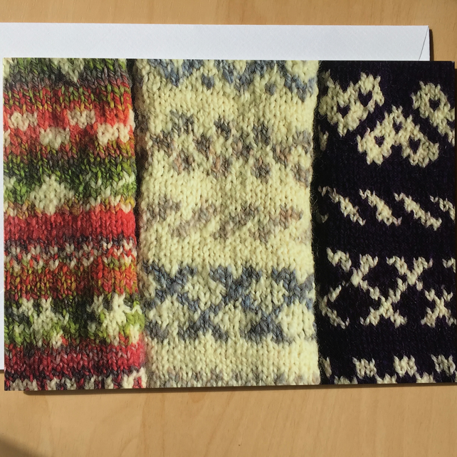Fair Isle Card