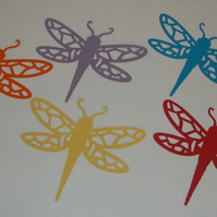 Dragonfly Cutout Suncatcher Kit