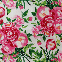 Cotton fabric - 100% cotton - Flowers