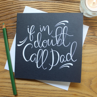 Fathers Day Card, Dad Card