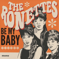 The Ronettes A4 Art Print
