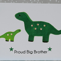 Proud Big Brother Card