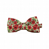 Red Rose Mens Bow tie