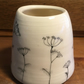 small cow parsley vase