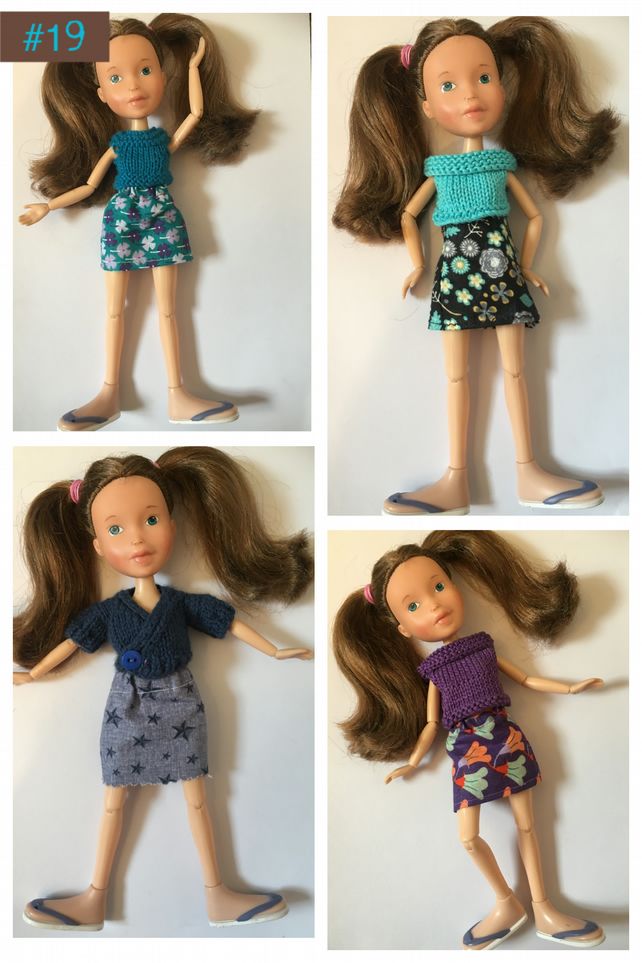 Dolls clothes to fit bratz doll or barbie