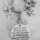 Love You Keyring Friends Are Like Stars