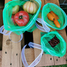 Reusable grocery, produce, gift bags