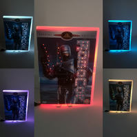 Robocop, Neon Dvd Nightlight, Any Movie made to Order.