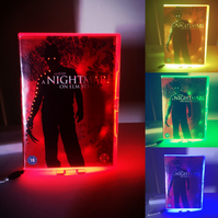 A Nightmare on Elm Street Multicolour Neon Dvd Nightlight, Any Movie Made to Ord