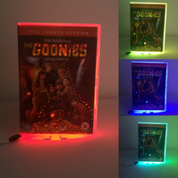 The Goonies, Multicolour Neon Dvd Nightlight, Any Movie Made to Order