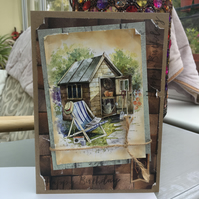 The Garden Shed Birthday Card