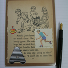 Enid Blyton collaged card
