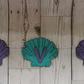 Mermaid shell bunting personalised with name - free postage!