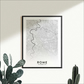 Rome Map, Option to Customise - Rome Print, Rome City Map, Rome Print, Rome Map