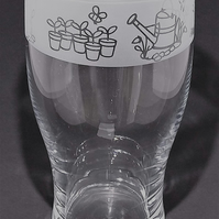 Pint Glass Gardening