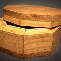 octagon trinket box