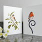 Garden Birds Greetings Cards, Pack of Two