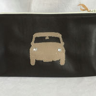 One for the Men, Classic Mini Cooper Was Bag, Toiletries Bag, Unique Gift.