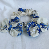 Beautiful Butterfly Hair Accessories Set, Scrunnchie, Hair Bows, Hair Clips.